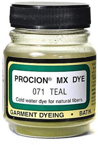 73c1286f Amazon.com: Jacquard Procion MX Fiber Reactive Dye (Teal) 3 pcs sku ...