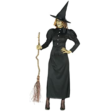 Adult Traditional Wicked Witch of the West Halloween Fancy Dress Costume Medium  sc 1 st  Amazon UK & Adult Traditional Wicked Witch of the West Halloween Fancy Dress ...