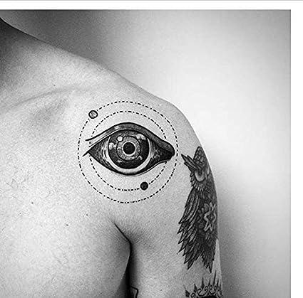 ruofengpuzi Adesivo tatuaggioSky Eye Impermeable Tatuaje Temporal ...