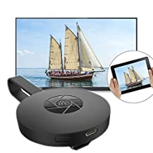 Rumfo G2 1080P Wifi Display Dongle Converter Adapter For Google Chromecast 2 Digital HD HDMI Media Player Video Streamer 2015 2nd Generation Device for TV Streaming
