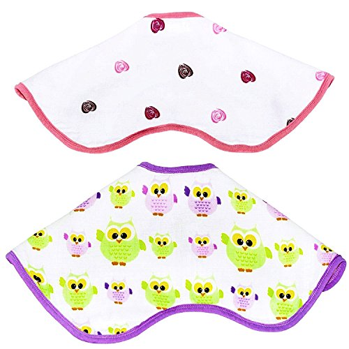 Baby Drooling Absorbent Colorful Comfortable