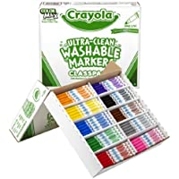 Crayola Ultra Clean Washable Fine Line Markers (200 Count)