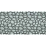 Fadeless Designs Bulletin Board Art Paper, 4-Feet by 50-Feet, Rock Wall (56485)