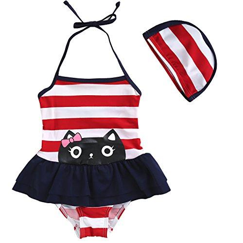 Toddler Swimsuit Lovely Swimwear Bathing