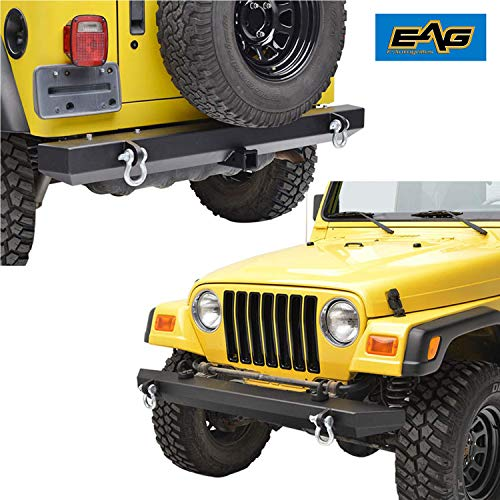 EAG Front Bumper and Rear Bumper with 2