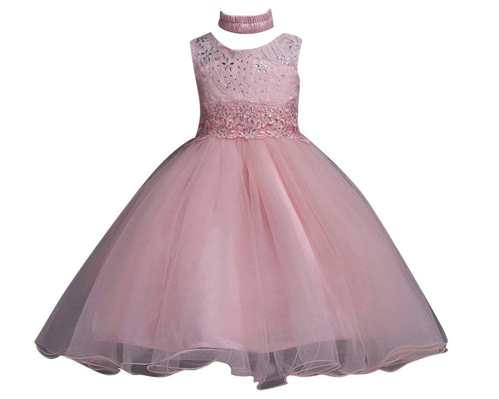 Qitun Vestido Elegante De Princesa Con Diamantes De Imitación ...