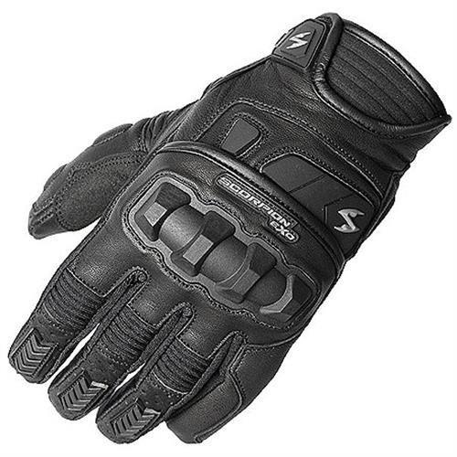 Scorpion EXO Men's Men's Klaw II Black Gloves G17-034 (Gloves Klaw Scorpion)