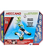 Meccano Action Springs Innovation Set STEAM Building Kit, voor kinderen vanaf 10 jaar