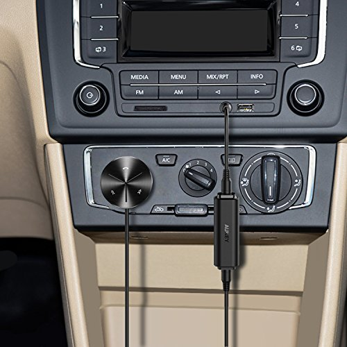 Bluetooth-Lautsprecher mit 3,5-mm-Audiokabel Ground Loop Isolator Heim Stereo AUKEY Entst/örfilter Auto Radio Entst/örer Noise Filter f/ür Audio System