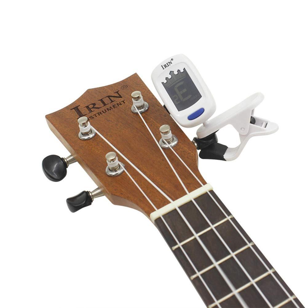 Artibetter Clip digital para afinador de guitarra con pantalla LCD ...