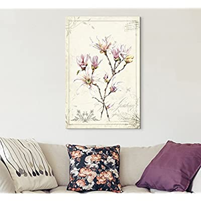 Vintage Style Magnolia Flowers, Quality Creation, Marvelous Print
