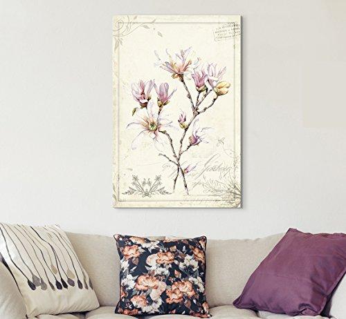 Vintage Style Magnolia Flowers
