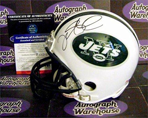 Autograph Warehouse 345228 Mark Sanchez Signed Mini Helmet - New York Jets QB Legend PSA DNA Certificate of Authentication