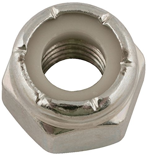 Connect LAS33120 33120 Steel UNF Nyloc Nuts 1//4-inch Set of 100