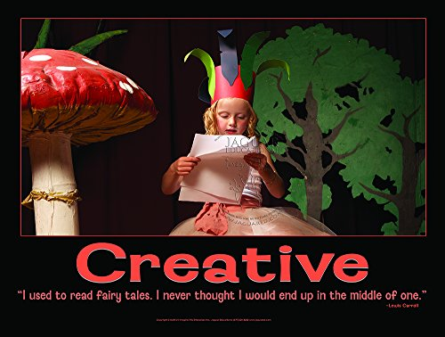 Creative Laminated Elementary Education Poster to Promote Reading