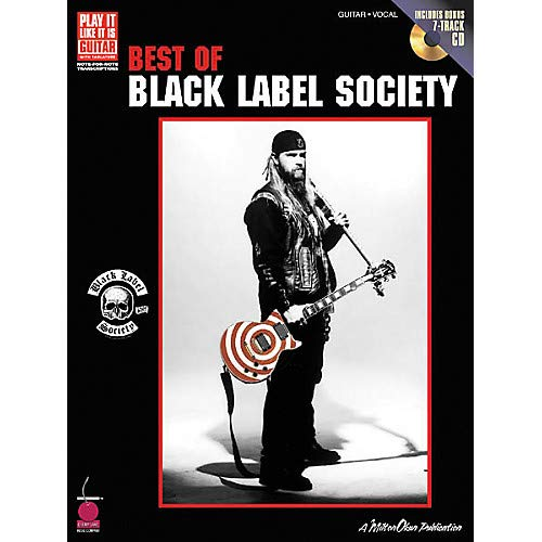 (Best of Black Label Society Book with CD Pack of 2)