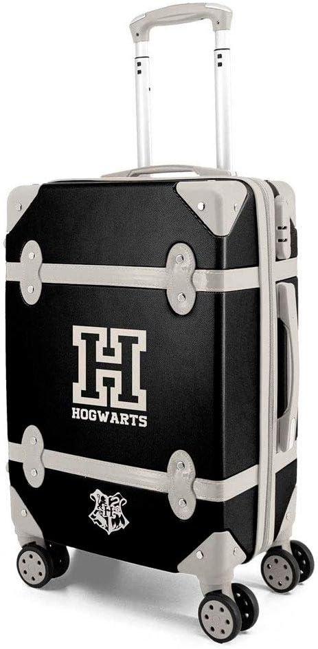 Karactermania Harry Potter School - Maleta Trolley Vintage, Color Negro