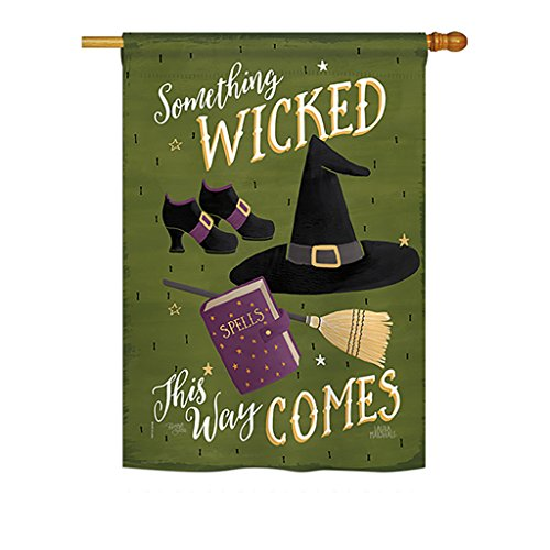 Breeze Decor H112082 Something Wicked Fall Halloween Decorat