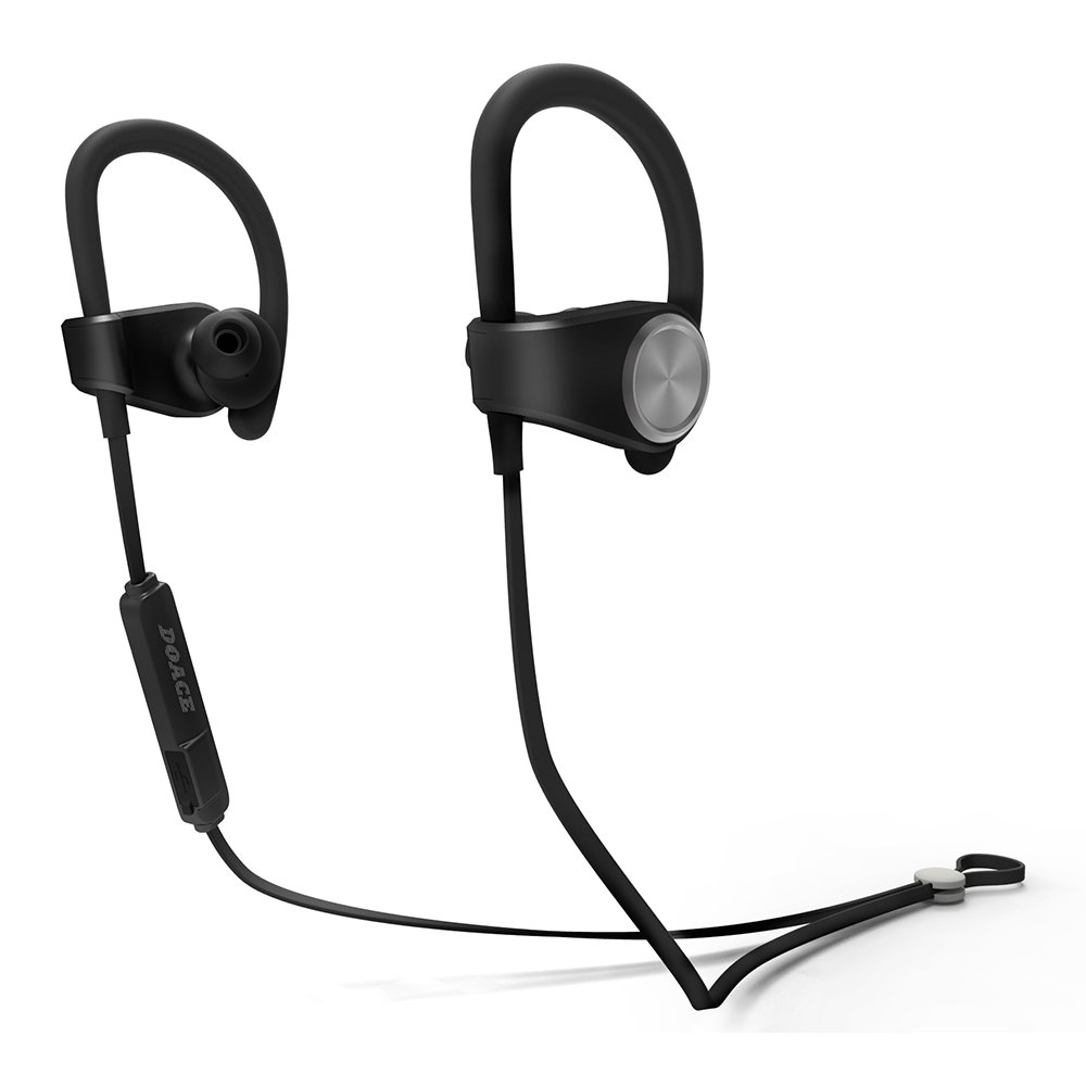 bluetooth headphones doace wireless sport sweatproof noise cancel earbuds new ebay. Black Bedroom Furniture Sets. Home Design Ideas