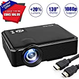 Best Mini Projector For I Pads - Projector LED Mini 1080P Projector, Portable Movie Projector Review