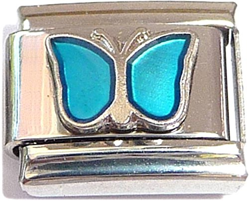 Classic Butterfly March Italian Charm ()