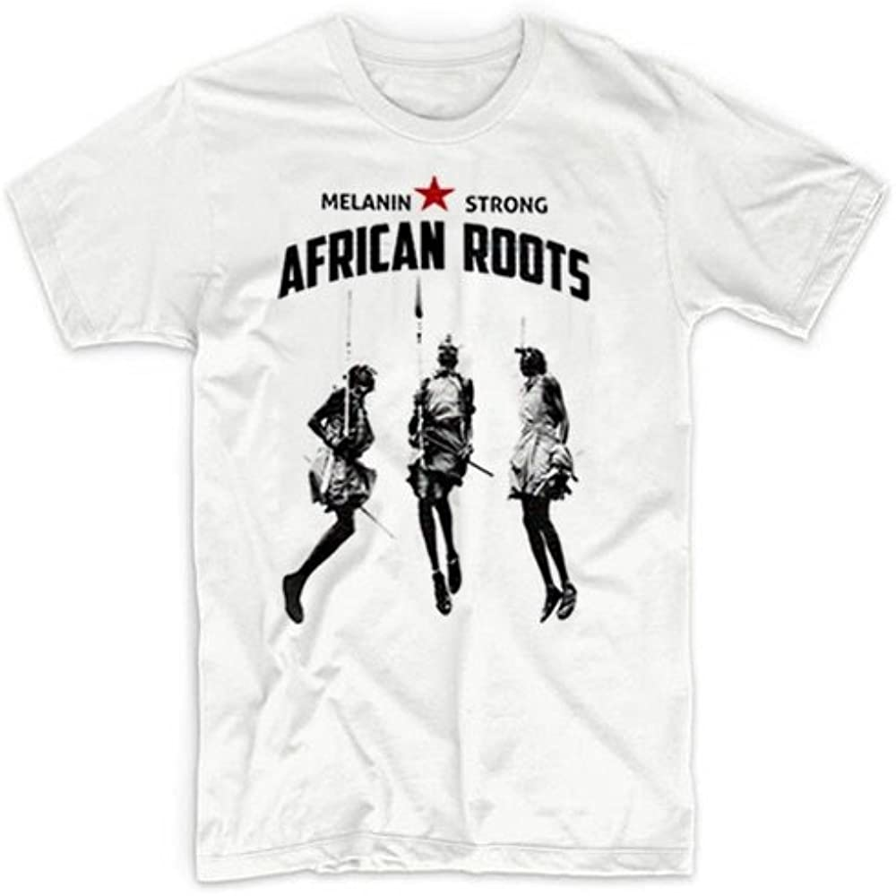 Stay Woke Melanin Strong Afro Punk Black History Month T-Shirt African Roots