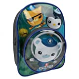 Character Octonauts Round Clear Front Pocket School Backpack, Bags Central