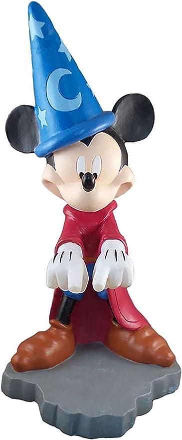 Design International Group Disney Mickey Fantasia Guss Spell Solar LED Garten Statue