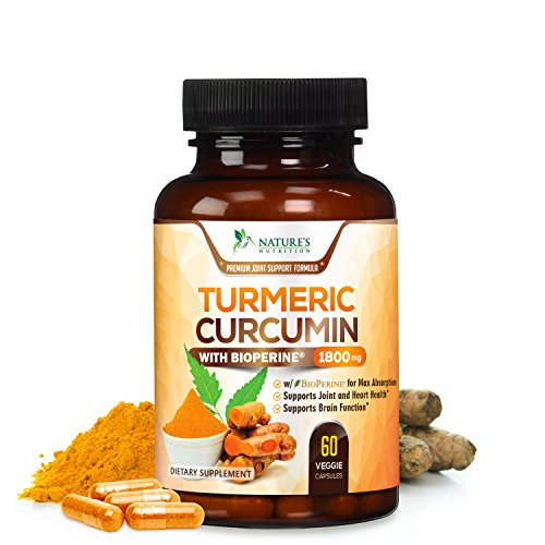 Supplement Curcuminoids Absorption Natures Nutrition product image