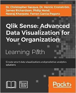 Amazon com: Qlik Sense: Advanced Data Visualization for Your
