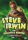 Steve Irwin The Crocodile Hunter. 3 dvd pack: Vol1 - Most Dangerous Adventures. Vol 2 - Wildest Home Videos. Vol...