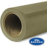 Savage Seamless Background Paper - #34 Olive Green (107 x 12yd)