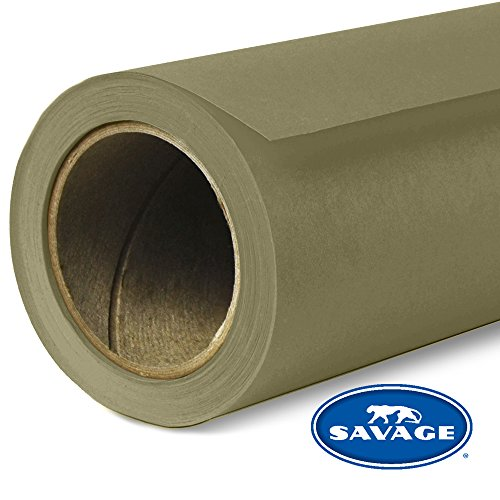 (Savage Seamless Background Paper - #34 Olive Green (107 in x 36 ft))