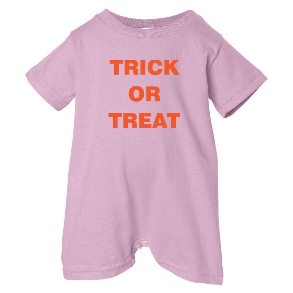 Festive Threads Unisex Baby Trick Or Treat T-Shirt Romper