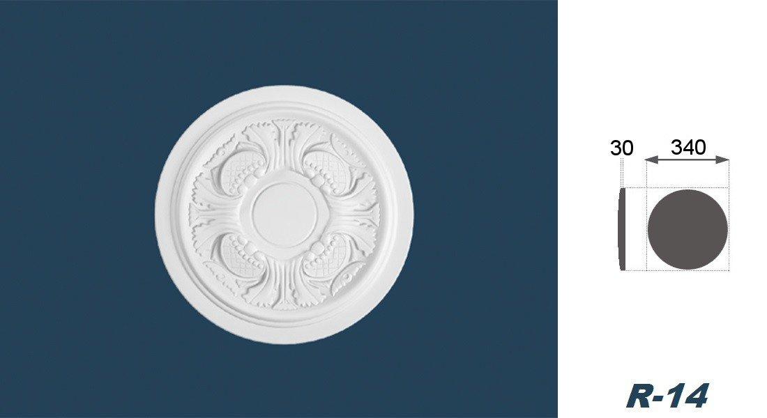 Deckenrosette Für Kronleuchter ~ 1 rosette stuckrosette deckenrosette decke dekor styropor stuck