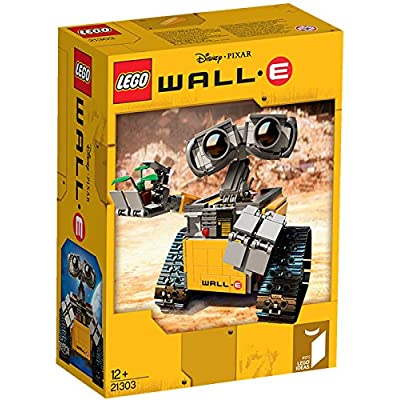 Lego Ideas 21303 Wall-E, 676-Piece: Toys & Games