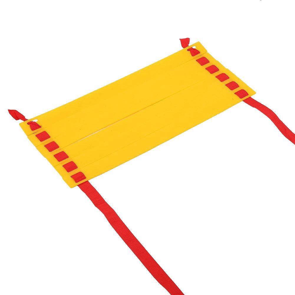 Entrenamiento de Velocidad con Bolsa de Transporte Ajustable para Baloncesto de f/útbol Alomejor Escalera de Agilidad