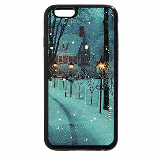 iPhone 6S Case, iPhone 6 Case (Black & White) -