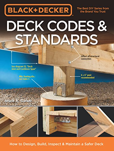 Black & Decker Deck Codes & Standards (Patio Decking And Designs)
