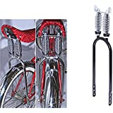 NEW BICYCLE 20/'/' LOWRIDER CHROME CLASSIC BENT SPRING FORK />LOWRIDER,CRUISER,