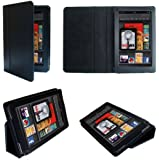 iGADGET® IG900 Kindle Fire High Quality PU Leather Case - Black
