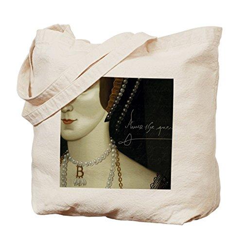 CafePress–Anne Boleyn–Gamuza de bolsa de lona bolsa, bolsa de la compra