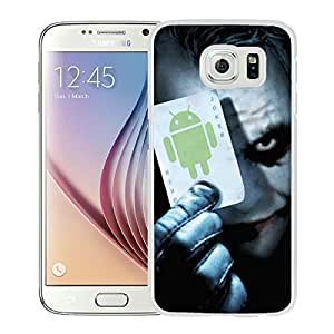 Beautiful Designed Cover Case For Samsung Galaxy S6 With Joker 2 White Phone Case