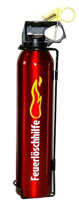 prox feuerlöschhilfe, 500 g inhalt, rot, schwarz oder silber, 1 ... - Feuerlöscher Für Küche