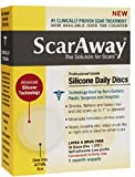 ScarAway Professional Grade Silicone Daily Discs 30 ea (Pack of 4)