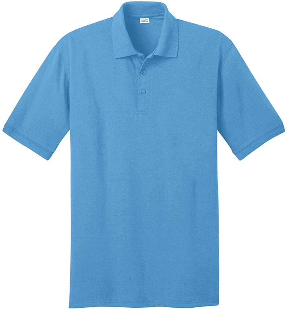 d501e4c2 Joe's USA Men's Tall Polo Shirt in 21 Colors. Tall Sizes: LT-4XLT at Amazon  Men's Clothing store: