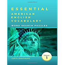 Essential American English Vocabulary Word Search Puzzles (Volume 1)