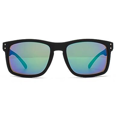 106705a46ded M:UK Dalston Rectangle Sunglasses in Black MUK147843: Amazon.co.uk: Clothing