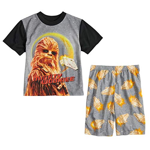 Star Wars Boys' Chewbacca 2-Piece Pajama Set, Size -