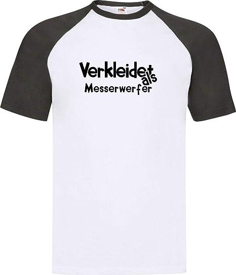 Shirtinstyle Camiseta Raglan Carnaval Verkleidet como ...
